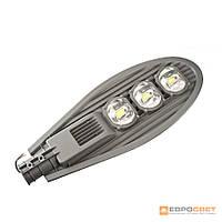 LED светильник уличный консольный ЕВРОСВЕТ ST-150-05 150Вт 6400К 13500Лм серый COB