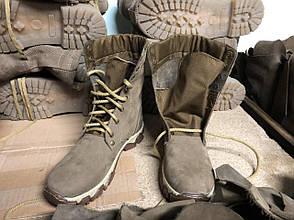 Ботинки женские берцы демисезонные облегченные из натуральной кожи, фото 2