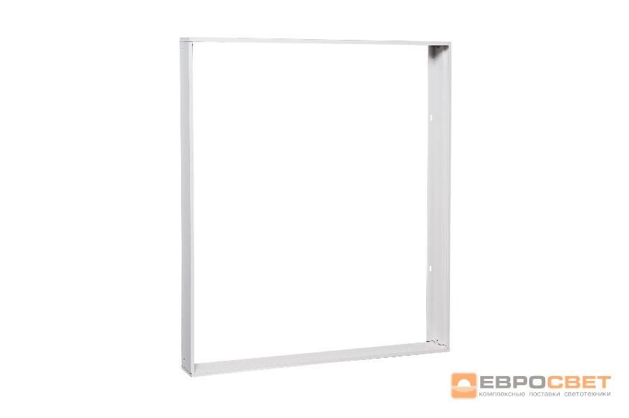 Накладная рамка для LED панели (595*595) FRM 602-602-44 пластиковая (ES)