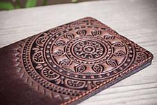 Обкладинка на паспорт або закордонний паспорт шкіряна, фото 3