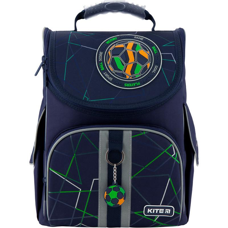 Рюкзак школьный каркасный Kite Education Football K20-501S-2