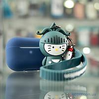 Чехол Cute Charm AirPods Pro Hellow Kitt Green