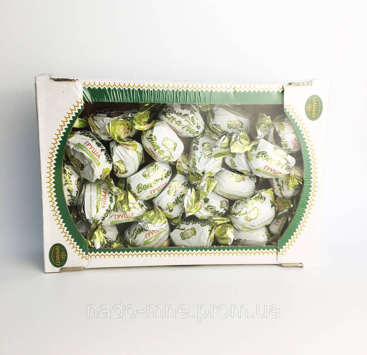 Конфеты Amanti Груша с грецким орехом, Украина, 1 кг.