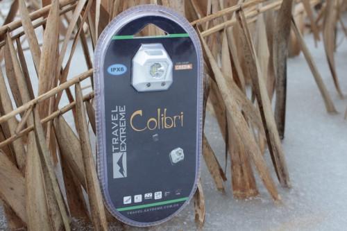 Налобный фонарик COLIBRI