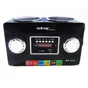 Портативные MP3 колонки от USB SD карт FM STAR 813