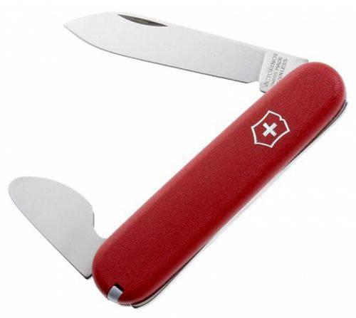 Компактный карманный складной нож Victorinox Watch opener 22102 красный