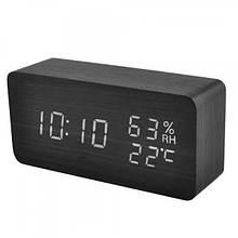 Часы сетевые з гигрометром VST 862S