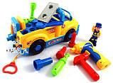 Детская машинка конструктор с инструментами Huile Toys 789, фото 2