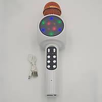 Беспроводной микрофон Караоке с динамиком и cветомузыкой  Wster WS-1816