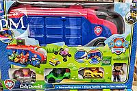 Автовоз Щенячий патруль с полным набором персонажей (7 персонажей)
