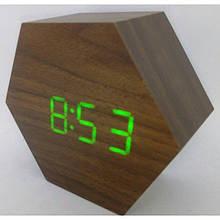 Часы электронные настольные VST 876 Brown