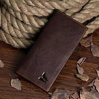 Купюрник мужской Vintage 14127 Коричневый, Коричневый, фото 1