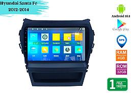 "Штатная магнитола Hyundai Santa Fe 2012-2014 / IX45 2013-2017 (9"") Android 10.1 (4/32)"