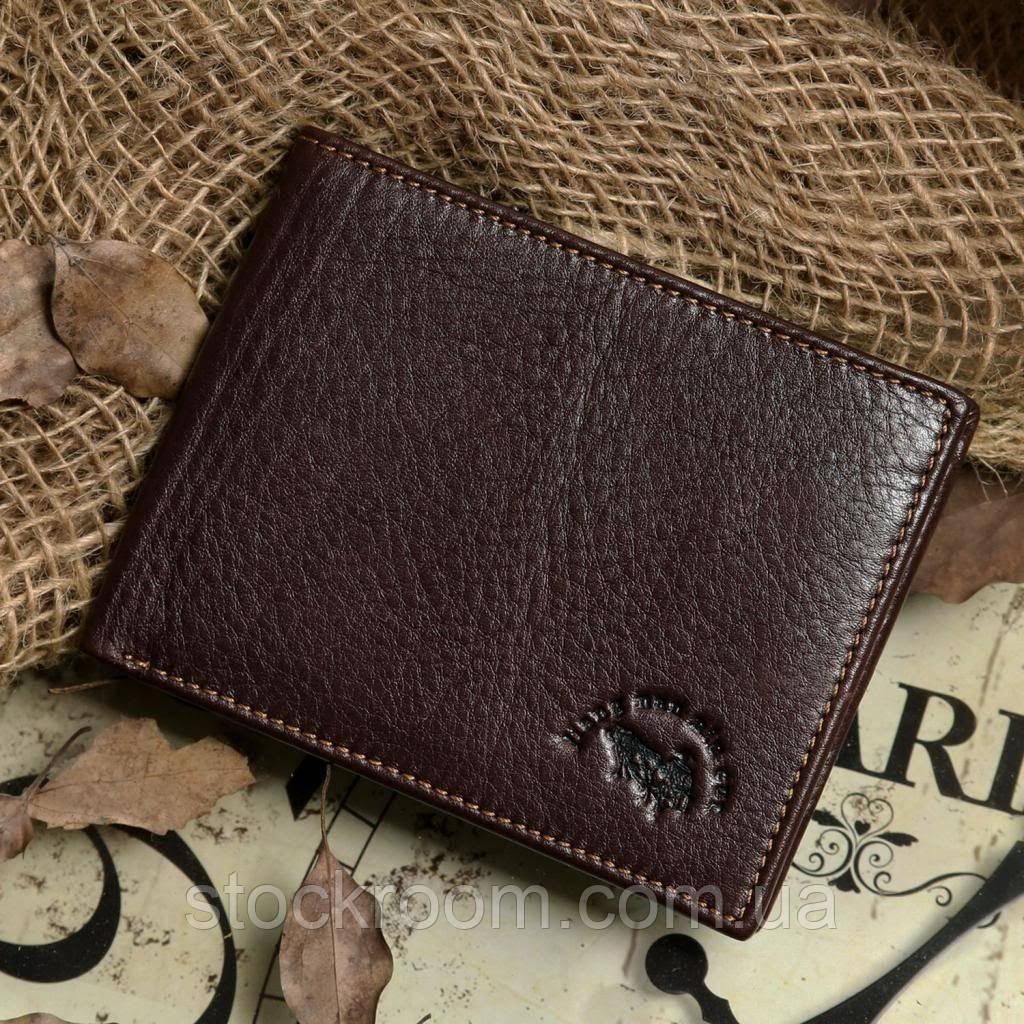 Кошелек мужской Vintage 14176 Коричневый, Коричневый