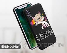 Силиконовый чехол для Apple Iphone 11 Pro Likee (Лайк) (4028-3109), фото 3