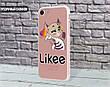 Силиконовый чехол для Apple Iphone 11 Pro Likee (Лайк) (4028-3109), фото 4