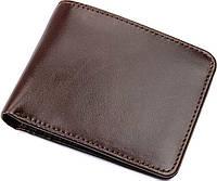 Бумажник мужской Vintage 14508 кожаный Коричневый, Коричневый, фото 1