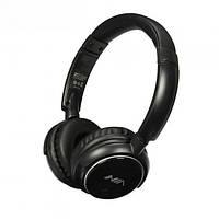 Беспроводные стерео наушники NIA Q1 с МР3  FM и Bluetooth Black