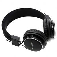 Беспроводные складные Bluetooth наушники Atlanfa AT-7611A Черный