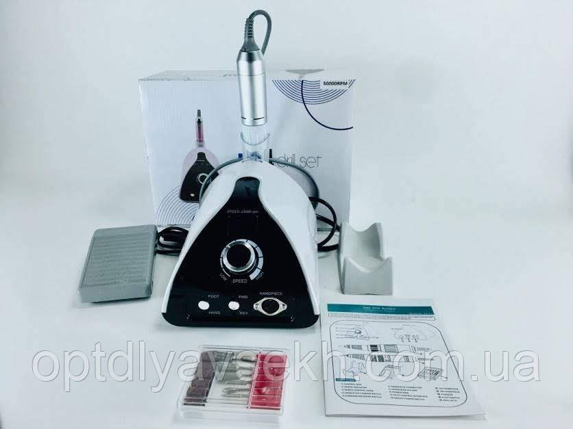 Профессиональный фрезер для маникюра и педикюра ZS-711 на 70 Вт - 50000 об./мин. (с ручкой и педалью)