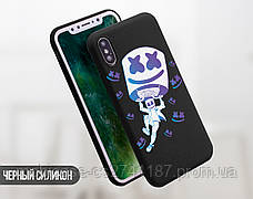 Силиконовый чехол для Apple Iphone 11 Pro Marshmello Fortnite (Маршмеллоу Фортнайт)  (4028-3112), фото 3