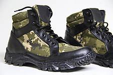 Тактические ботинки берцы из натуральной кожи SB БОТИНОК ЧЕРНЫЙ ПИКСЕЛЬ, фото 3