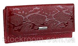 Гаманець жіночий KARYA 17149 шкіряний Червоний, Червоний