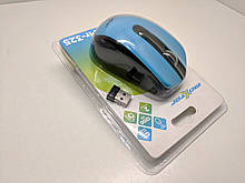Комп'ютерна Миш Maxxter Mr-325 Blue\Black