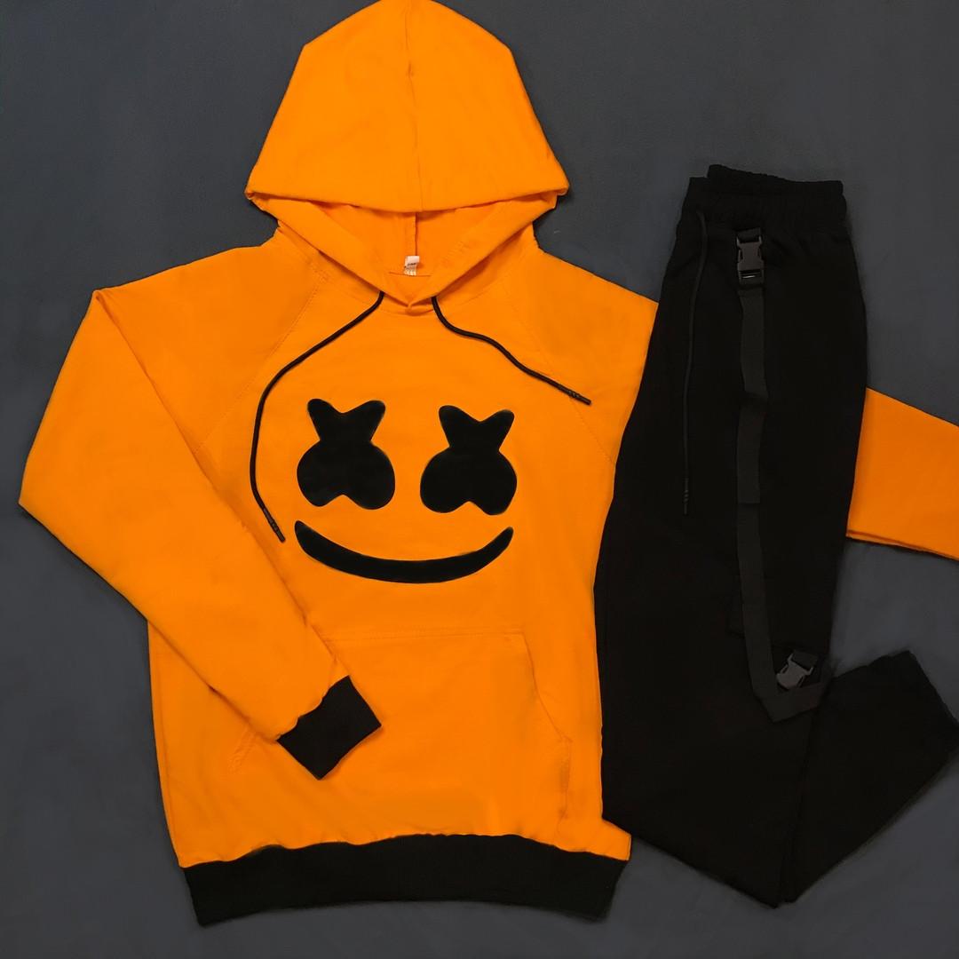 Спортивный трикотажный комплект SMILE желтый