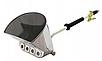 Хоппер ковш, пистолет для штукатурки пневматический FALON TECH GERMANY, фото 6