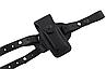 Кобура Форт-12 двухсторонняя формованная с клипсой с чехлом под магазин (кожа, чёрная), фото 6
