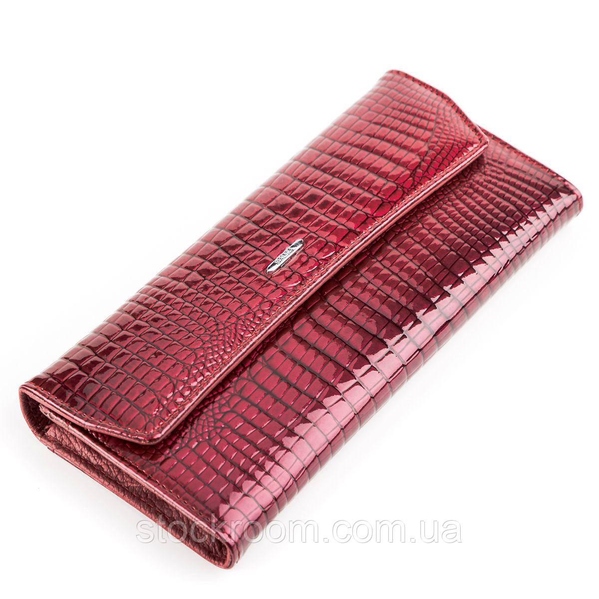 Кошелек женский BALISA 13860 кожаный Бордовый, Бордовый