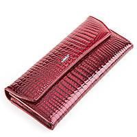 Кошелек женский BALISA 13860 кожаный Бордовый, Бордовый, фото 1