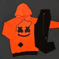 Спортивный трикотажный комплект SMILE оранжевый