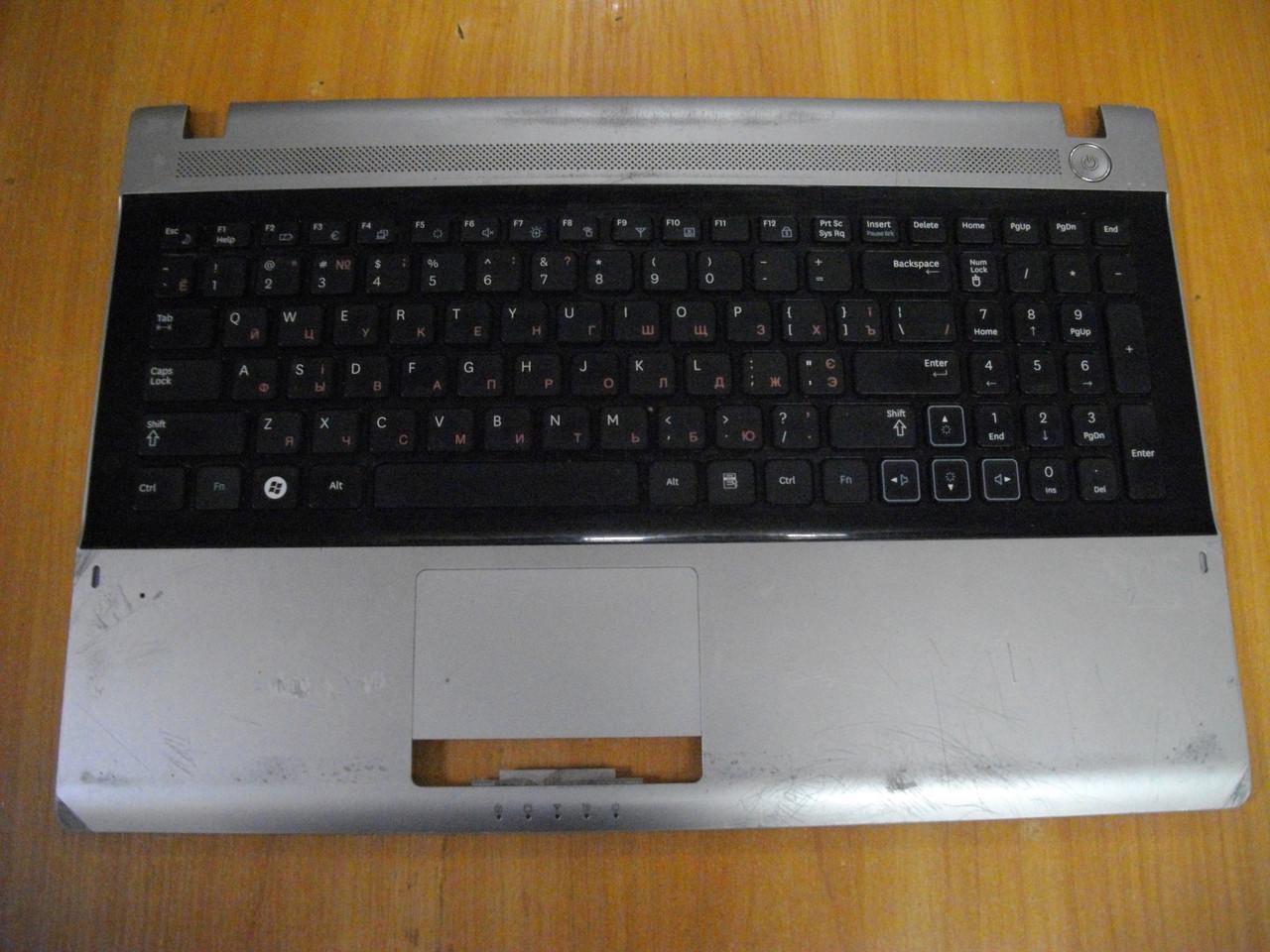 Корпус Клавиатура с верхней частью корпуса топкейс Samsung NP-RV509, RV509 бу