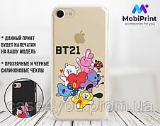 Силиконовый чехол для Apple Iphone 5_5s BTS (БТС) (4002-3145)
