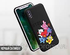 Силиконовый чехол для Huawei Y5 (2018) BTS (БТС) (13011-3145), фото 3
