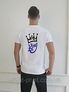 """Чоловіча футболка з принтом """"King"""""""