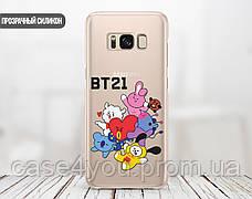 Силиконовый чехол для Samsung A207 Galaxy A20s BTS (БТС) (13019-3145), фото 2
