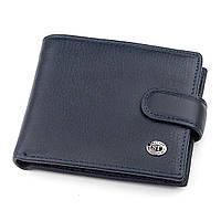 Мужской кошелек ST Leather 18312 (ST103) кожа Синий, Синий, фото 1