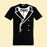 """Чоловіча футболка з принтом """"Смокінг"""""""