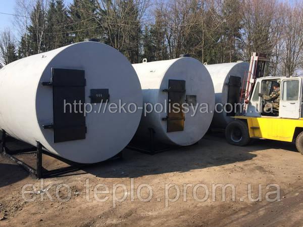 Печи для производства древесного угля. Украина