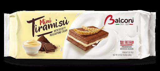 Порційний бісквіт Balconi Mini Tiramisu , 280 гр.
