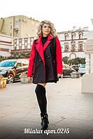 Кашемировое пальто в горошек, фото 1
