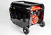 Бензиновый генератор тока 230В / 380В AVR EUROCRAFT, фото 2