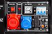 Бензиновый генератор тока 230В / 380В AVR EUROCRAFT, фото 8
