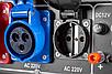 Бензиновый генератор тока 230В / 380В AVR EUROCRAFT, фото 9