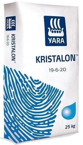 Комплексное водорастворимое удобрение NPK для цветов, ягод Яра Кристалон Yara Tera KRISTALON 19-6-20 (25 кг)