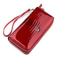 Гаманець жіночий ST Leather 18449 (S5001A) місткий Червоний, Червоний