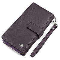 Гаманець жіночий ST Leather 18455 (ЅТ228) зручний Фіолетовий, Фіолетовий